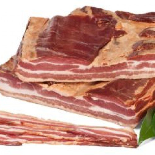 Port of Lancaster Smokehouse Tuscany Style Smoked Sliced Pancetta 200g from Port of Lancaster Smokehouse