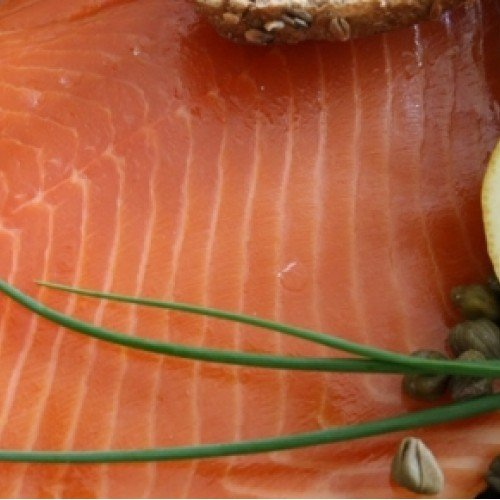 Port of Lancaster Smokehouse Vodka & Coriander Smoked Salmon Side 1kg from Port of Lancaster Smokehouse