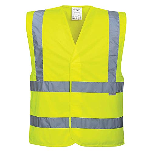 C470YERL/XL Large/ XL Hi-Vis Vest - Yellow from Portwest