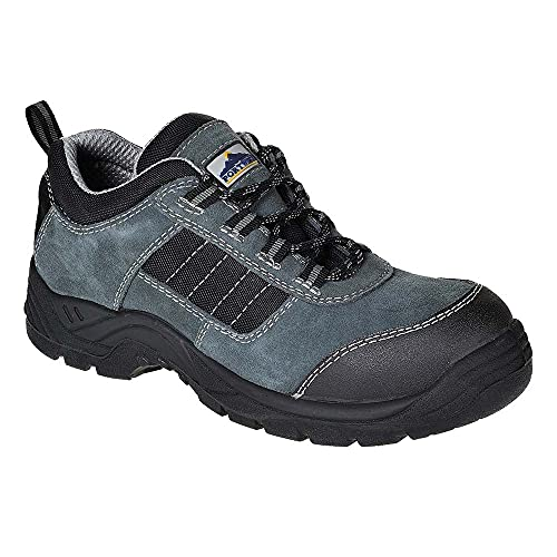 PORTWEST FC64BKR42 Composite 336 Trekker Shoe, Black, Size : 8 from Portwest