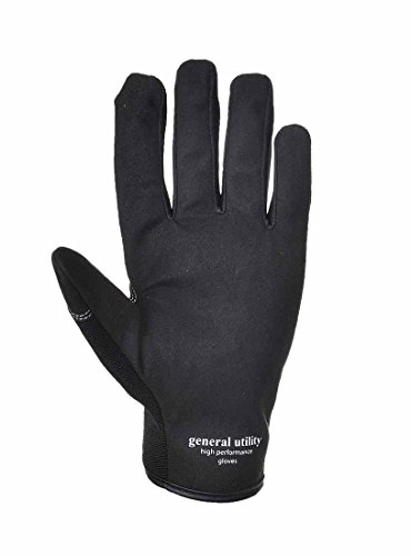 Portwest A700 General Utility High Performance Work Gloves Black L from Portwest