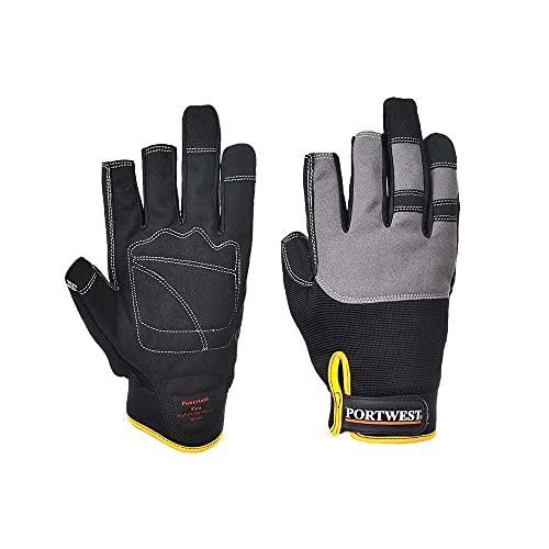 Portwest A740 Powertool Pro Glove, A740BKRM from Portwest
