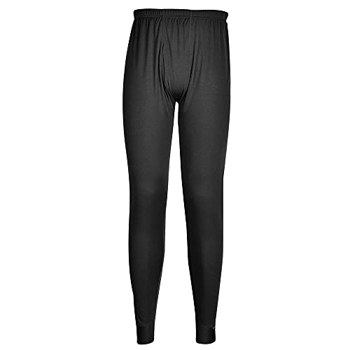 Portwest B131BKRL Large Thermal Base Layer Trousers - Black from Portwest