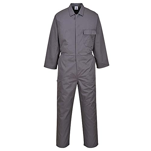 Portwest C802GGRM Standard Coverall, Regular, Medium, Graphite Grey from Portwest
