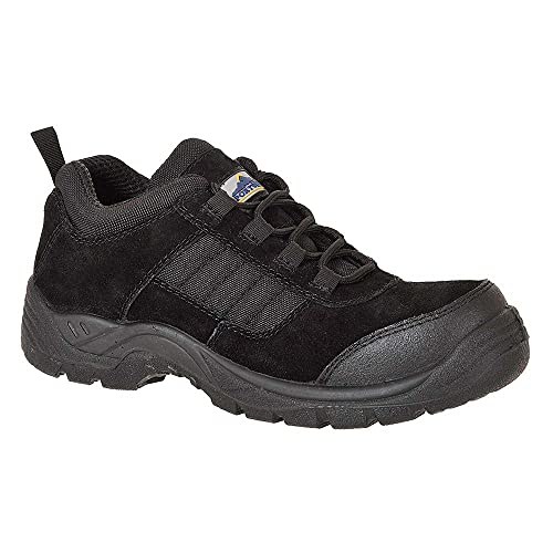 Portwest FC66BKR42 Compositelite Trouper Shoe, S1, Regular, Size: 42, Black from Portwest