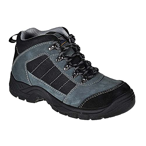 Portwest FW63BKR43 Steelite Trekker Boot, S1P, Regular, Size: 43/1, Black from Portwest