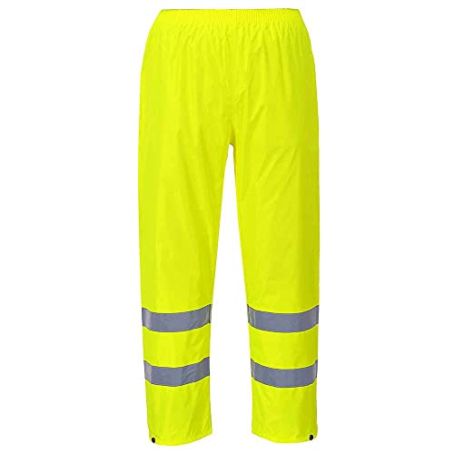 Portwest H441YERXL Series H441 Hi-Vis Rain Trouser, Regular, Size: X-Large, Yellow from Portwest
