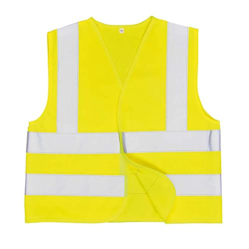 Portwest JN14YERL Junior Hi-Vis Vest for Age 10 to 12 from Portwest