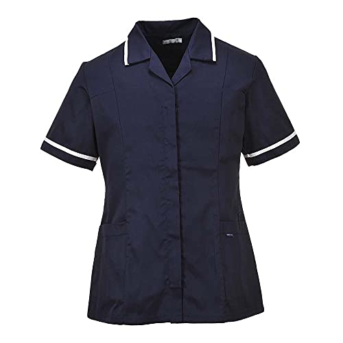 Portwest LW20NARXXXL Series LW20 Classic Tunic, Regular, Size: 3X-Large, Navy from Portwest