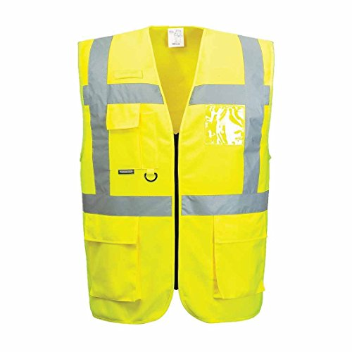 Portwest S375YERS Vest-Port Thermal Waistcoat, Regular, Size Small, Yellow from Portwest
