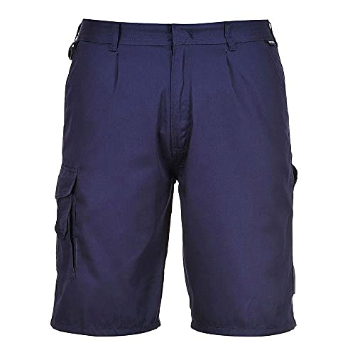 Portwest S790NARXS Combat Short, Regular, Size: X-Small, Dark Navy from Portwest