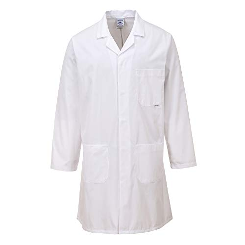 Portwest Standard Workwear Lab Coat (Medical Health) (S) (White) from Portwest
