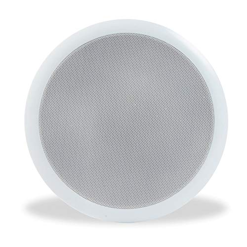 "Power Dynamics 100V Line 8"" Restaurant Office Bar Shop White Ceiling Speaker from Power Dynamics"