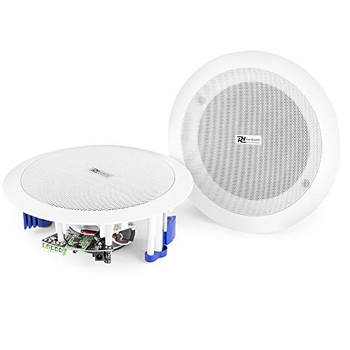 Power Dynamics Ceiling Speakers 60W Wireless Bluetooth Audio Streaming Home Audio Living Room from Power Dynamics