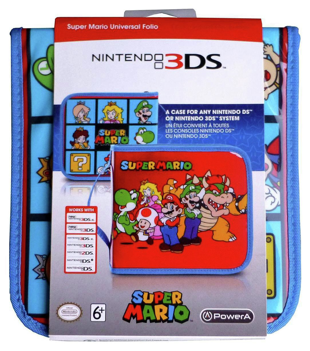 Universal Super Mario - 2DS/3DS XL Folio - Case from PowerA