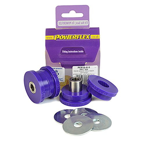 PFR16-515 POWERFLEX ROAD SERIES Rear Shock Absorber Top Mounting Bushes from Powerflex