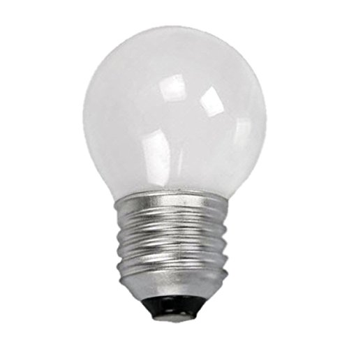 10 X 40 WATT ES (E27) EDISON SCREW PEARL GOLF BALL ROUND LAMPS LIGHT BULBS from Powertech
