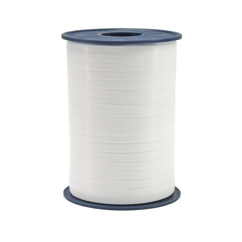 Präsent Curling Ribbon, Pure White, 5 mm - 500 m from C.E. Pattberg
