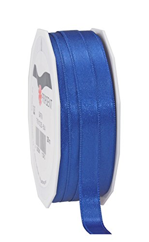 C.E. Pattberg SATIN royal blue, 27 yards for Wrapping, 0.39 inches width, Decorating & Crafting, Decorative Ribbon for Gifts, for every occasion, polyester, 10mm-25m from C.E. Pattberg