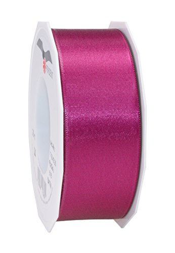 C.E. Pattberg SATIN purple gift ribbon, 27 yards for Wrapping Gifts, 1.6 inches width, Ribbon for Decorating & Crafting, Decorative Ribbon for Gifts, for every occasion from C.E. Pattberg