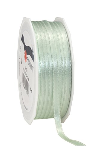 C.E. Pattberg mint green, 55 yards for Wrapping, 0.24 inches width, Decorating & Crafting, Decorative Ribbon for Gifts, for every occasion, polyester, 6mm-50m from C.E. Pattberg