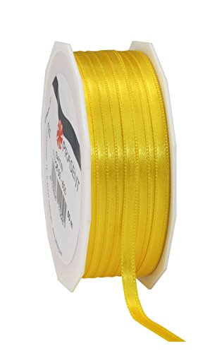 C.E. Pattberg yellow, 55 yards for Wrapping, 0.24 inches width, Decorating & Crafting, Decorative Ribbon for Gifts, for every occasion, polyester, 6mm-50m from C.E. Pattberg