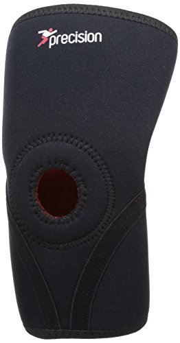 Precision Training Neoprene Knee Free Support - Black/Red, large from Precision Training