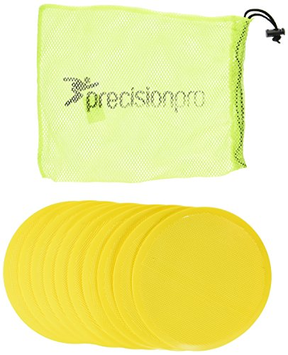Precision Round Flat Marke Discs - Yellow, 21 cm from Precision