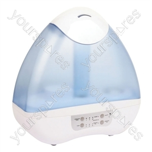 380 ml/hr Ultrasonic Humidifier & Ioniser with 4.5 L Water Tank from Prem-I-Air