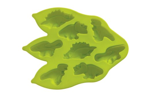 Premier Housewares 8 Dinosaur Cake Mould Tray - Lime Green from Premier Housewares