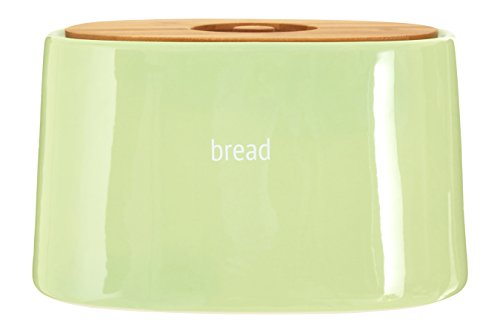 Premier Housewares Fletcher Bread Crock - Green from Premier Housewares
