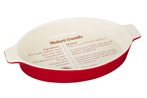 Premier Housewares From Scratch Baking Dish, 1.35 L - Red from Premier Housewares