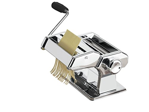 Premier Housewares Pasta Maker with Chrome Steel Body from Premier Housewares