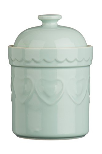 Premier Housewares Sweet Heart Storage Canister - Pastel Green from Premier Housewares