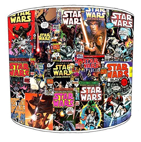 12 Inch Ceiling star wars comic book lamp shades from Premier Lampshades