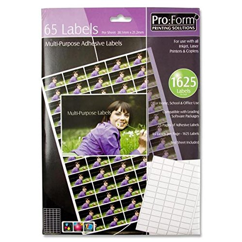 Premier Stationery 38 x 21 mm Pro:Form Adhesive Label from Premier Stationery