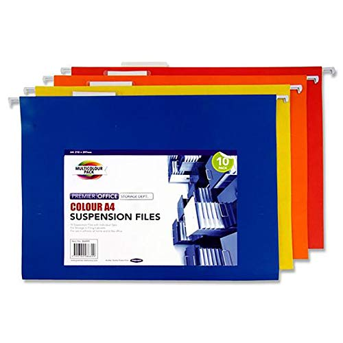 Premier Stationery A4 Coloured Suspension File A2886899 from Premier Stationery