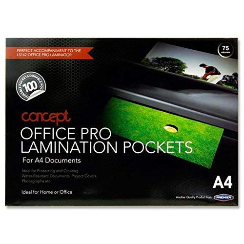 Premier Stationery A4 Laminating Pouch Pack of 100