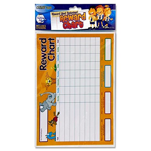 Premier Stationery Clever Kids Reward Charts (Pack of 4) from Premier Stationery