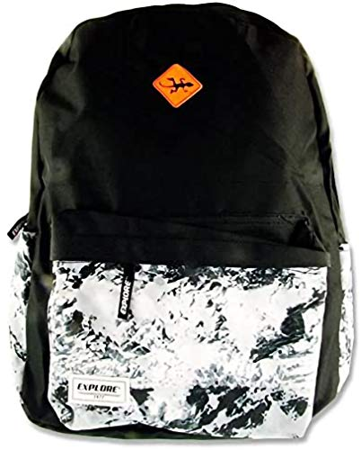 Premier Stationery Explore Casual Daypack, 45 cm, 30 L, Black Abstract 14320 from Premier Stationery