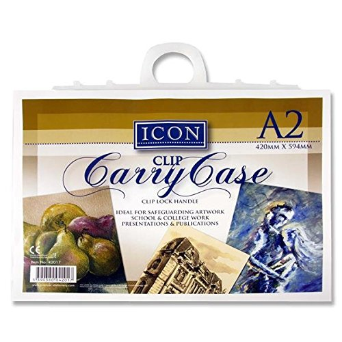 Premier Stationery Icon A2 Carry Case with Handle from Premier Stationery