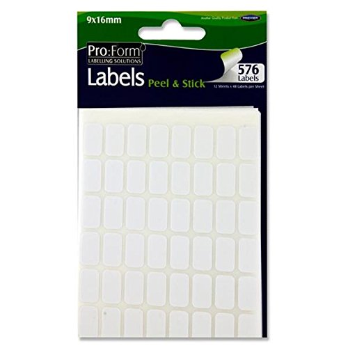 Premier Stationery Pro:Form 9 x 16mm White Label from Premier Stationery