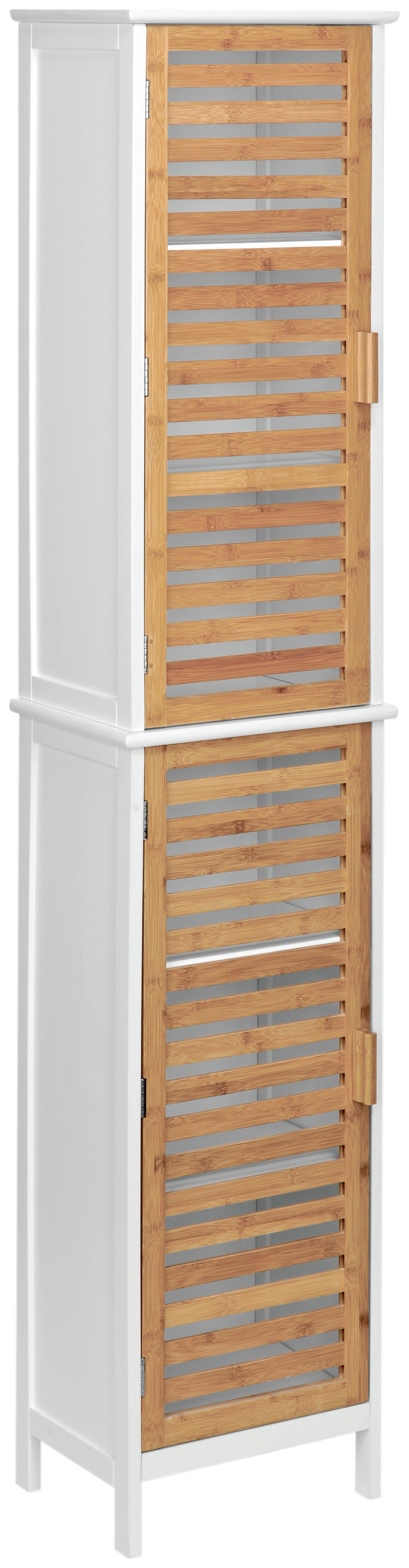 Premier Housewares 2 Door Floorstanding Bamboo Cabinet. at Argos from Premier housewares