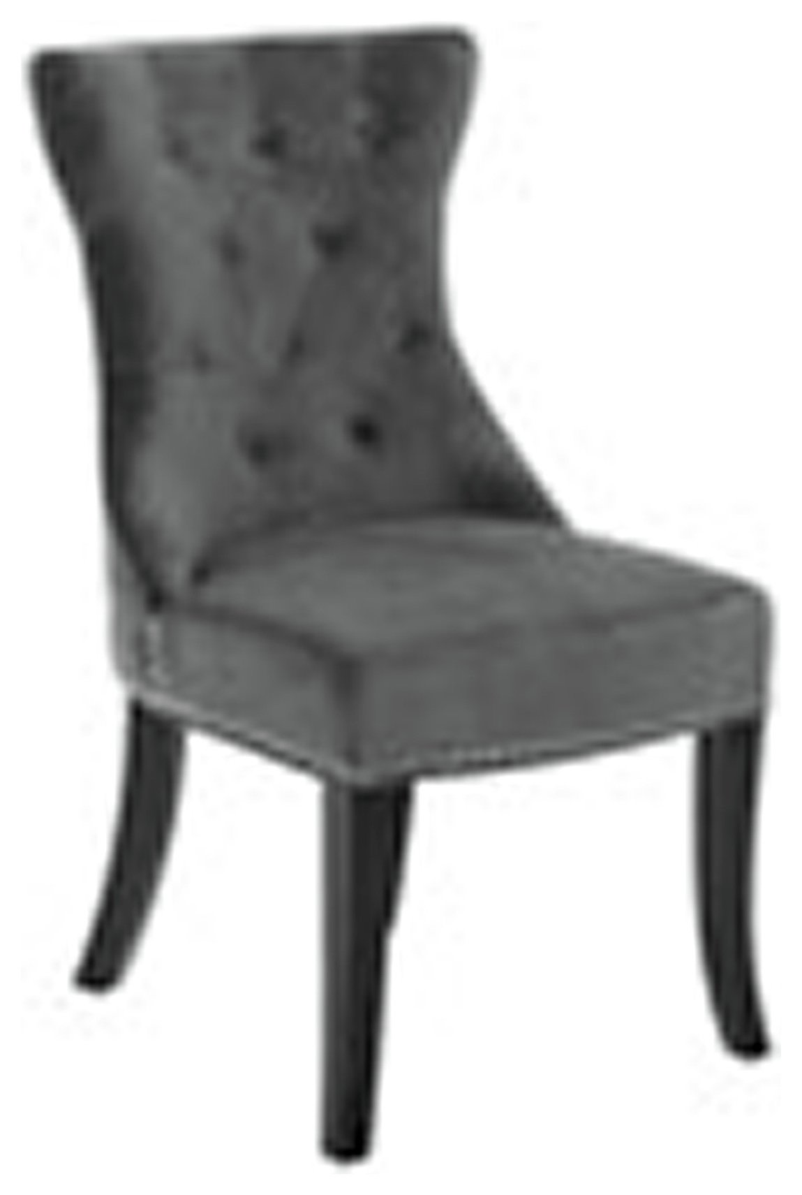 Premier Housewares Regents Park Dining Chair - Grey at Argos from Premier housewares