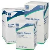 Gauze swabs, Non-Sterile 10cm x 10cm, 4Ply (x200) - Non-Woven and Soft from Premier
