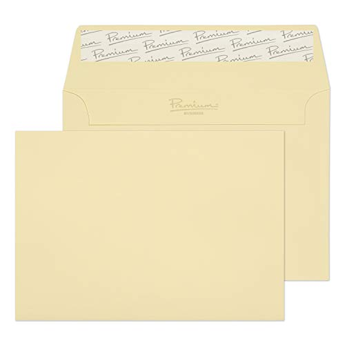 Blake Premium Business C5 162 x 229 mm 120 gsm Peel & Seal Wallet Envelopes (95455) Vellum Laid - Pack of 50 from Blake