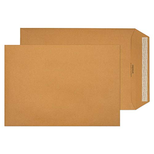 Blake Premium Avant Garde C4 324 x 229 mm 130 gsm Heavyweight Extra Strong Peel & Seal Pocket Envelopes (AG0046) Cream Manilla - Pack of 250 from Blake