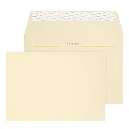Blake Premium Business C6 114 x 162 mm 120 gsm Peel & Seal Wallet Envelopes (64882PS) Cream Wove - Pack of 500 from Blake