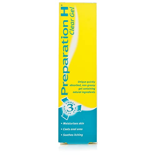 Preparation H 3 Way Action Clear Gel for Sore Skin 50g from Preparation