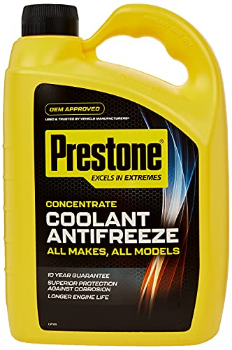 Prestone Coolant/Antifreeze - Concentrate 4lt from Prestone